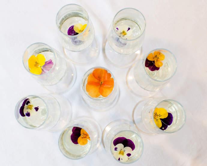Emma Britton Floral Glassware