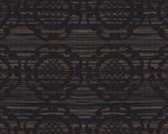 Black Geo in Ebony Splashback Sample