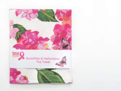 Breast Cancer Care Pink Tea towel