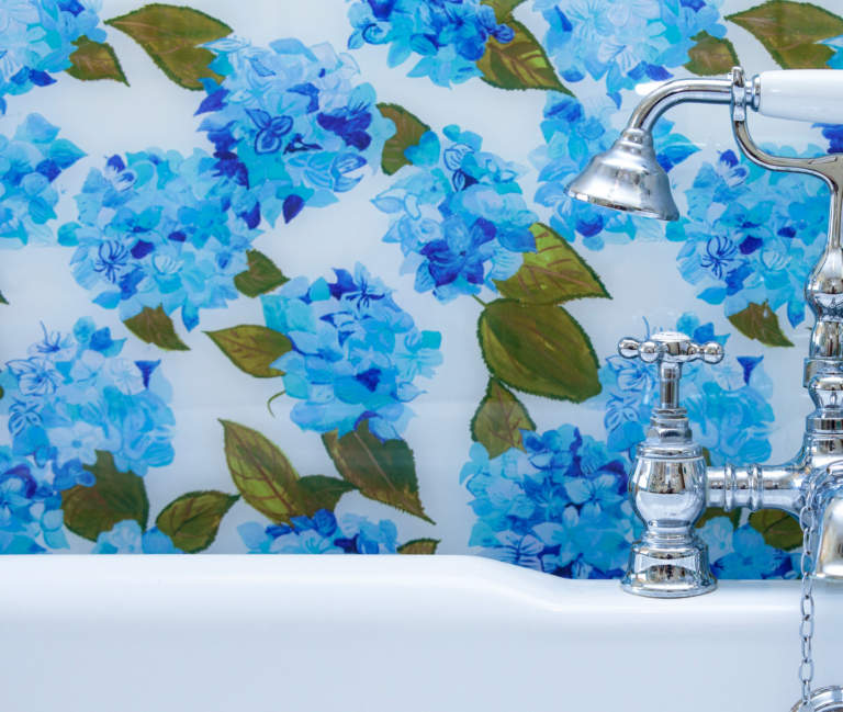 Emma Britton Blue & White Hydrangea