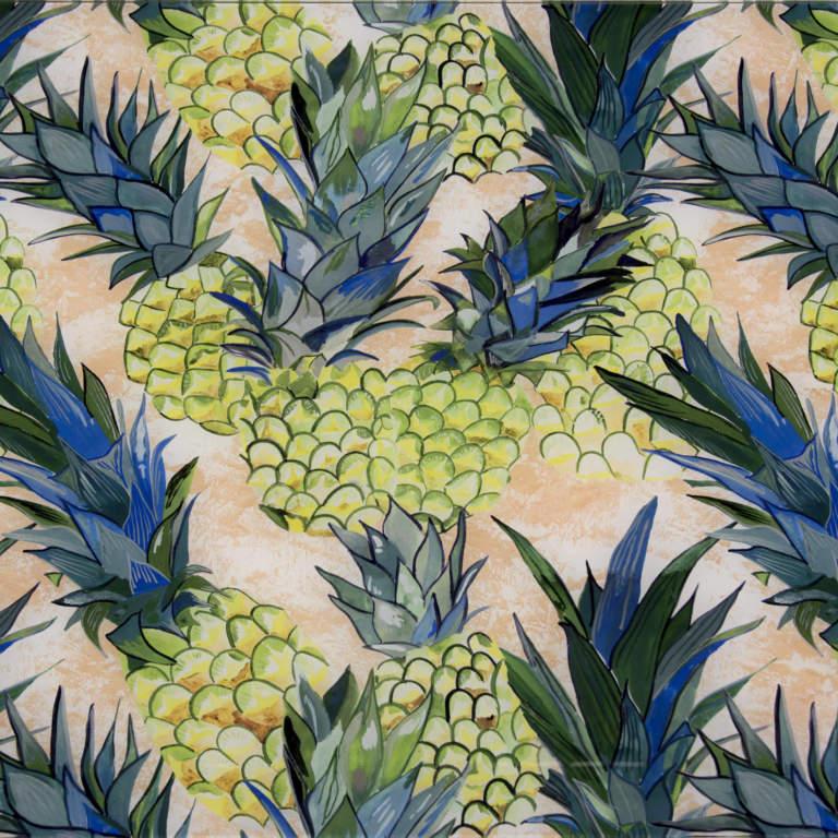 Pineapple Splashback Sample