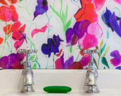 Emma Britton Sweetpea Splashback