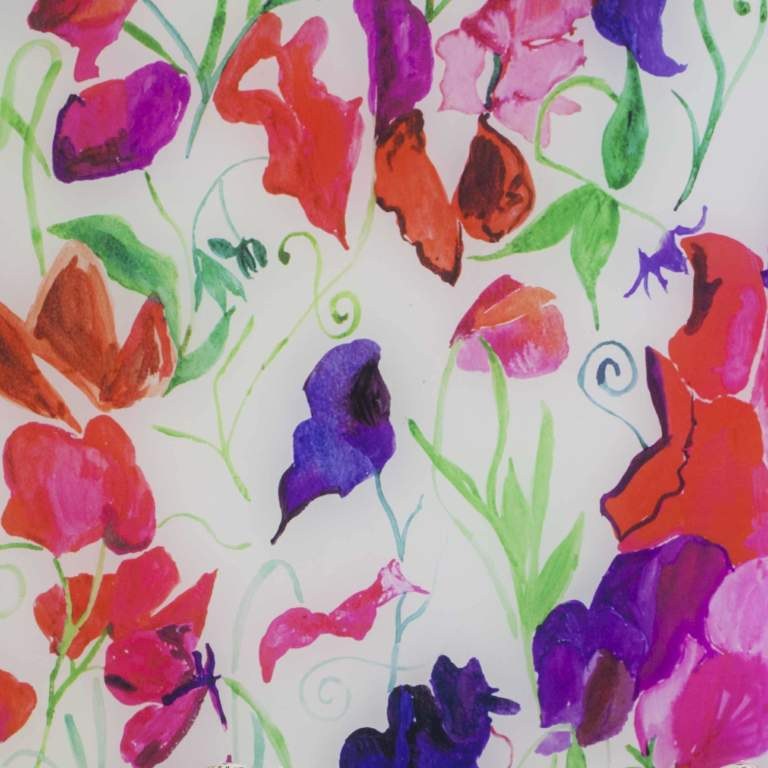 Sweetpea Vanity Splashback Sample