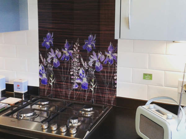 Emma Britton Showhome Splashback Commission