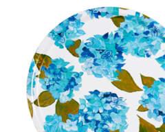 Blue and White hydrangea tray from Emma Britton splashbacks