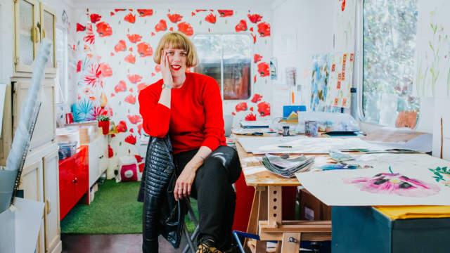 Emma Britton Splashback Glass Designer Studio