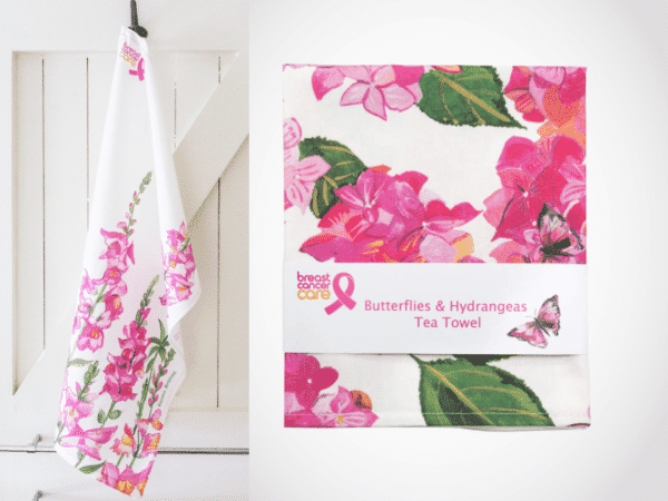 Emma Britton Breast Cancer Care Tea Towel