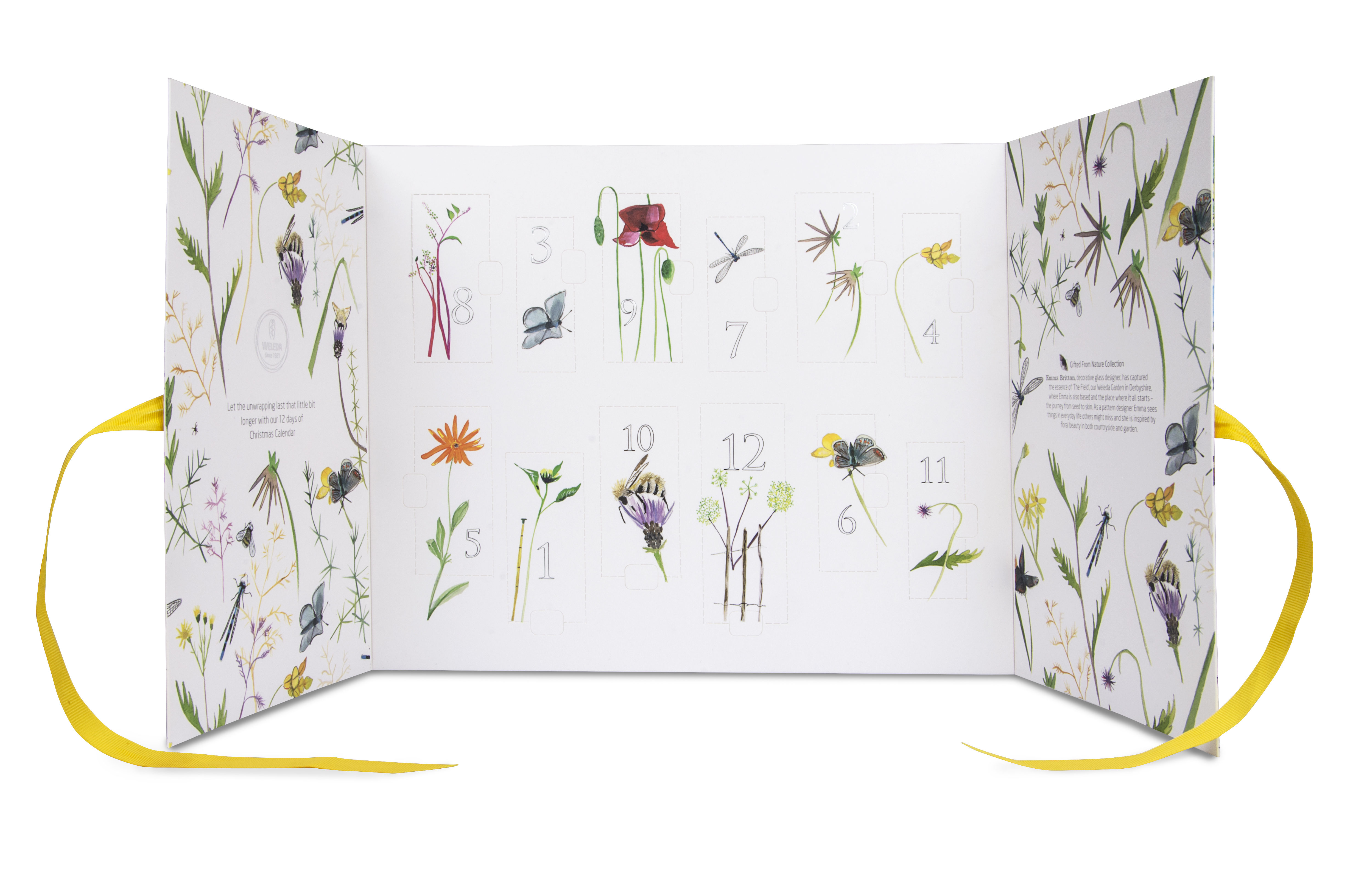 Weleda Advent calendar by Emma Britton
