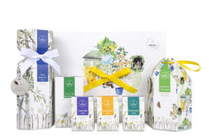 Emma Britton Pack designs for Weleda