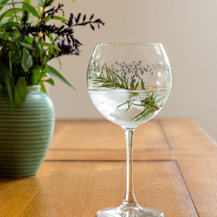 Emma Britton Ltd Edition Gin Glass
