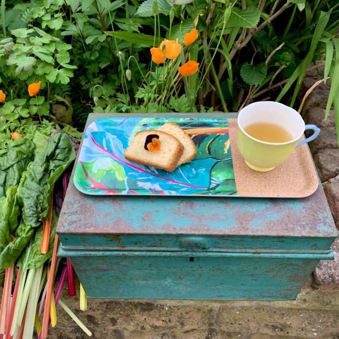 Gardeners Tray - Chard Design