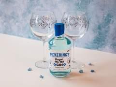 Pickering's Gin and Emma Britton Silver Birch Gin Glasses