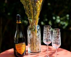 Emma Britton Meadow Pattern Champagne Flutes