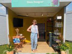 Emma-Britton-Decorative-Glass-Designer-Tatton-Flower-Show-2021