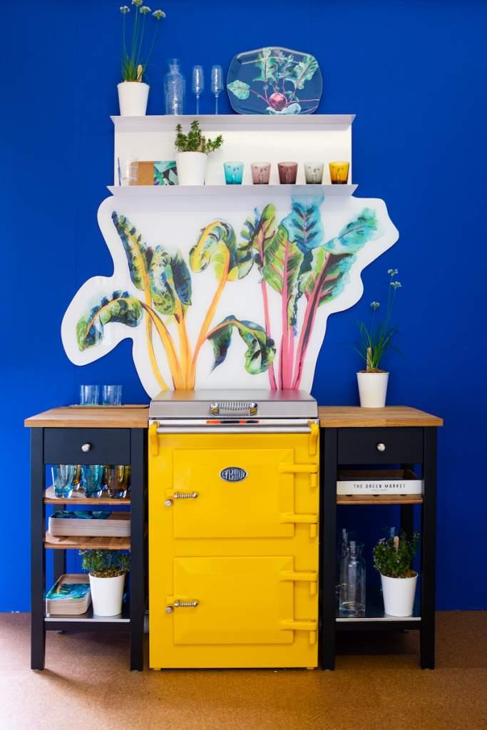 Emma Britton Decorative Glass Designer - HomegGrown Collection - Bright Lights Splashback